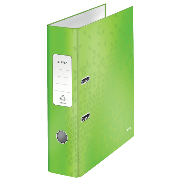 Pořadač pákový Leitz 180° WOW A4 7,5 cm zelený