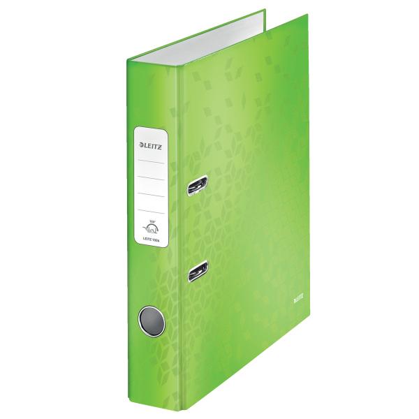Pořadač pákový Leitz 180° WOW A4 5 cm zelený