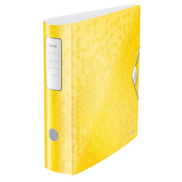 Mobilní pořadač Leitz 180° ACTIVE WOW A4 8,2 cm žlutý