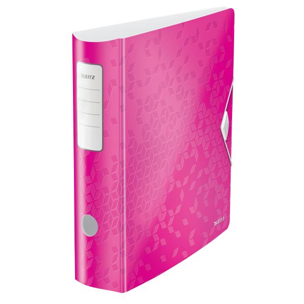 Mobilní pořadač Leitz 180° ACTIVE WOW A4 8,2 cm růžový