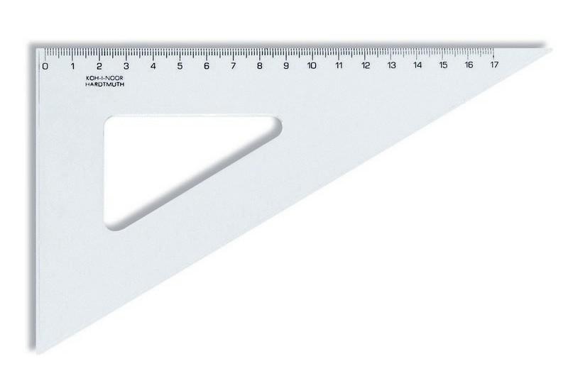 Trojúhelník 60/200 transparentní