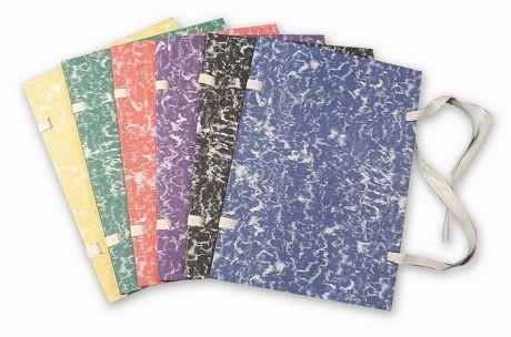 Desky s tkanicí A4 Mramor barevný