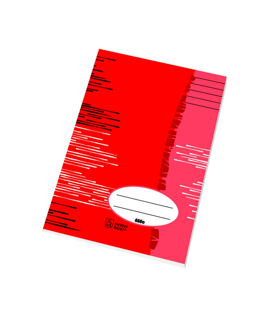 Sešit EKO 424 - A4 linkovaný, 20 listů