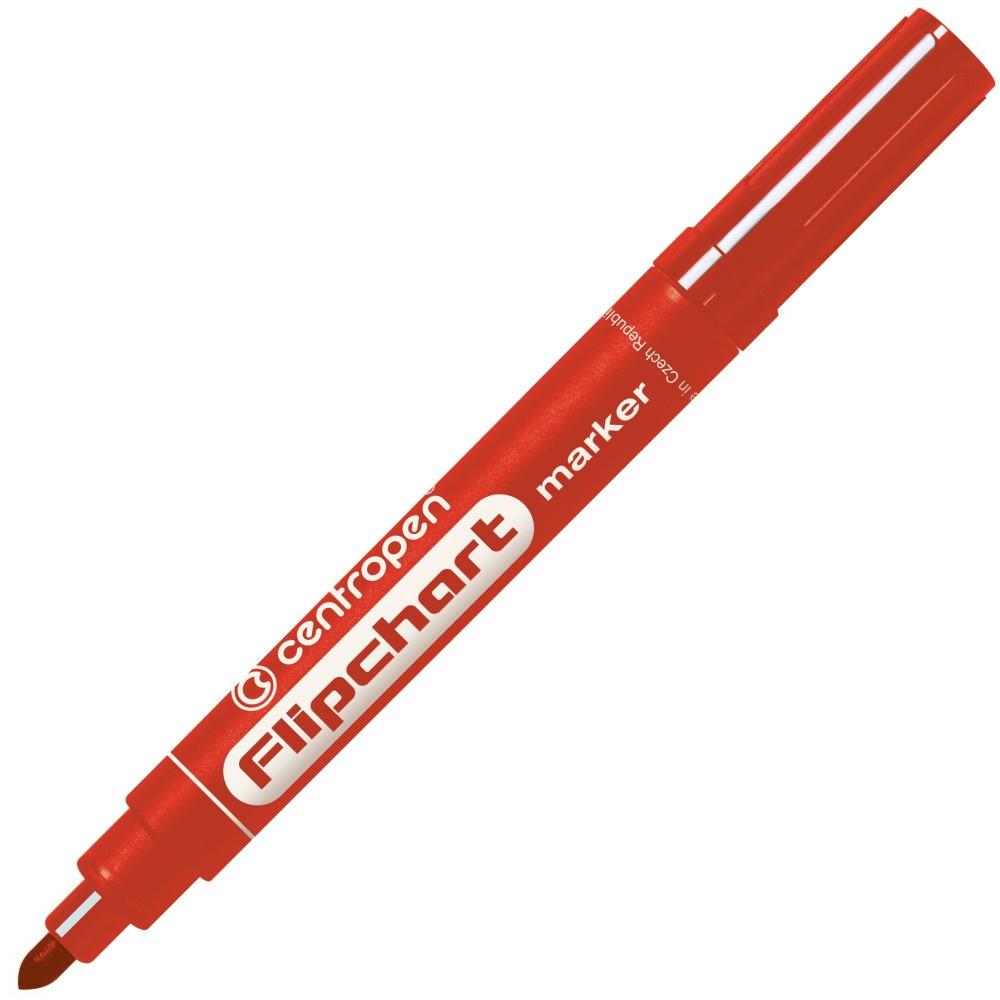 Značkovač 8550 Flipchart červený