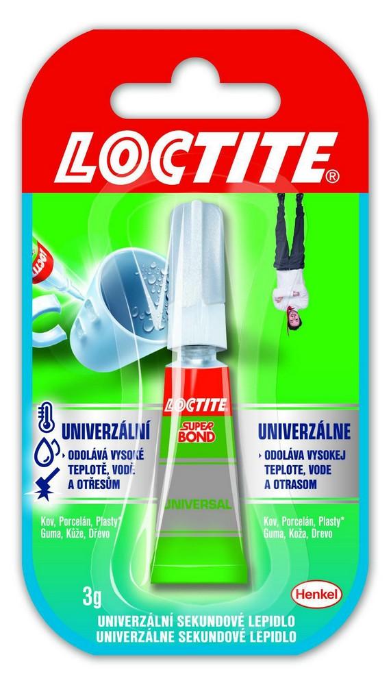 Lepidlo vteřinové Loctite SUPER BOND 3 g