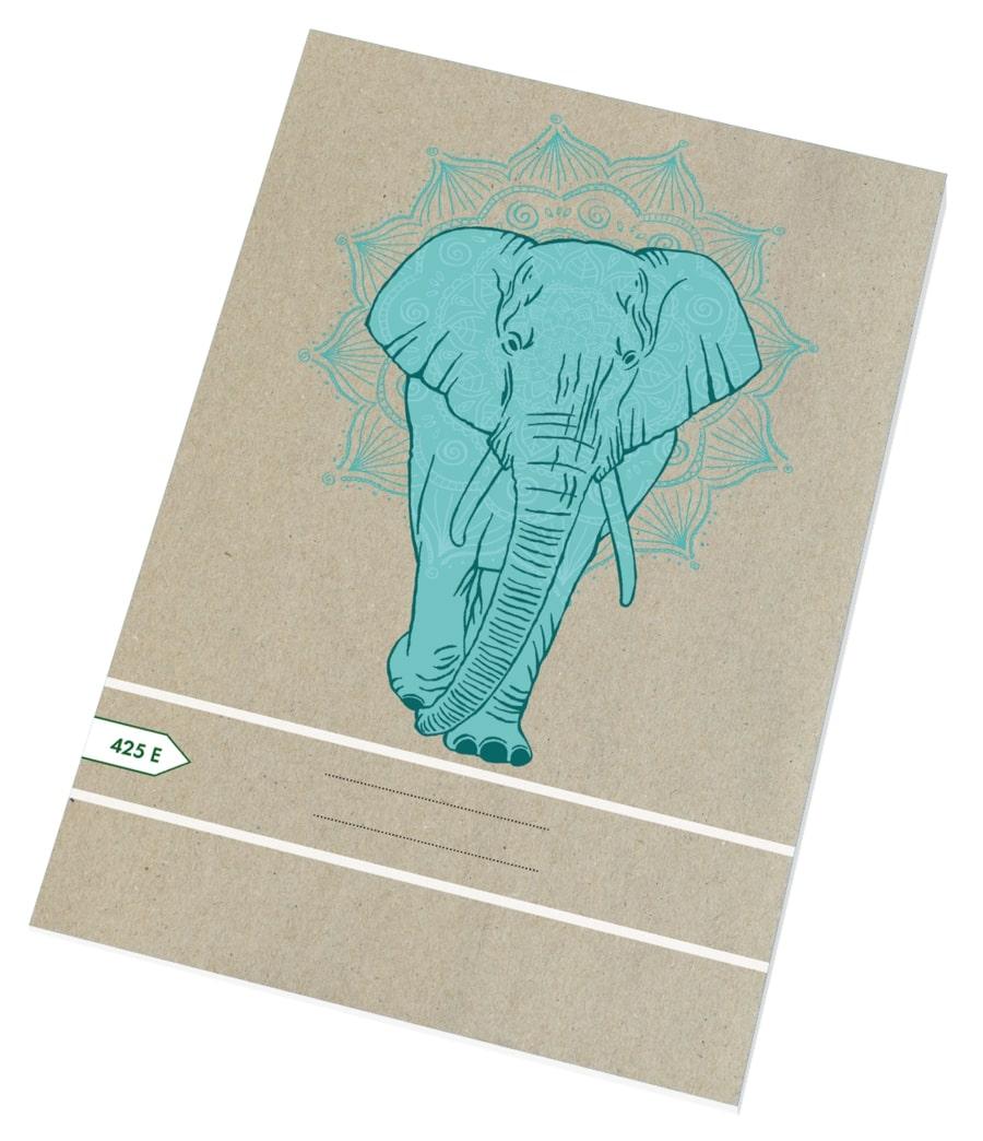 Sešit EKO 425 - A4 čtverečkovaný, 20 listů