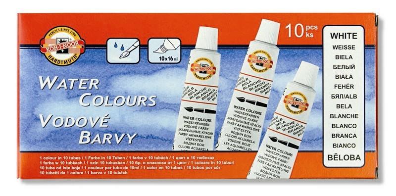 Barvy vodové běloba krycí tuba 16 ml