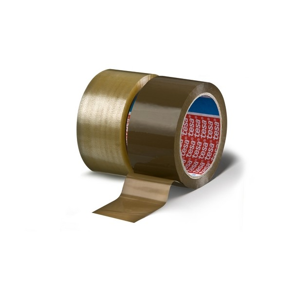 Lepicí páska balicí 48 mm x 66 m transparent Tesa