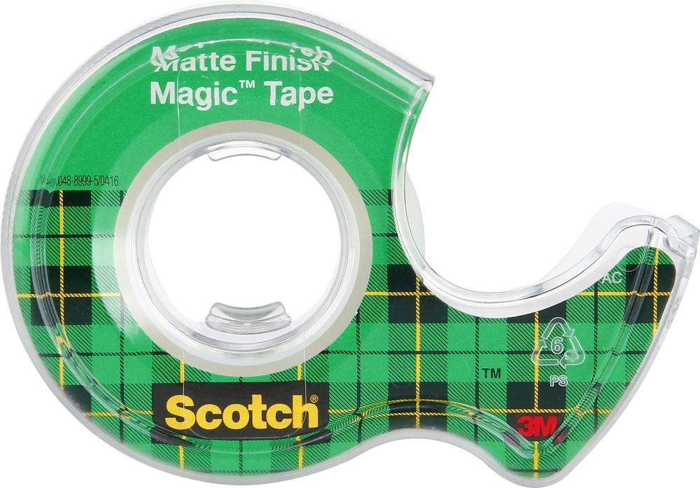 Lepicí páska bankovní 19 mm x 7,5 m s odvíječem SCOTCH MAGIC