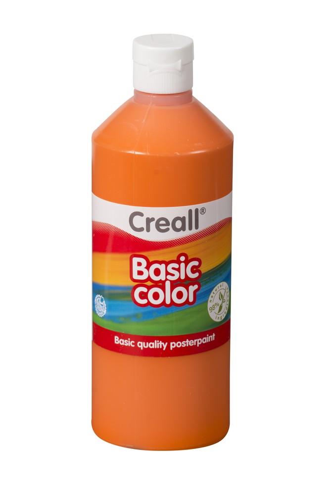 Barva temperová Creall 0,5 l oranžová