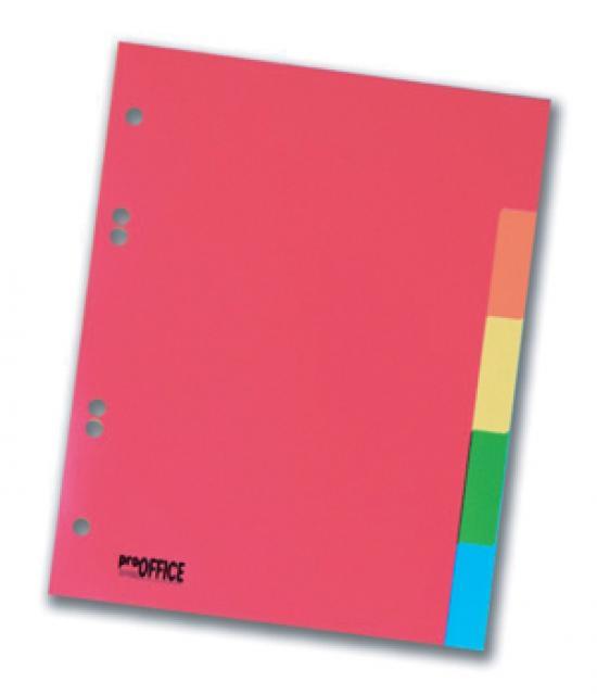 Rozdružovač plastový A5 5 barev