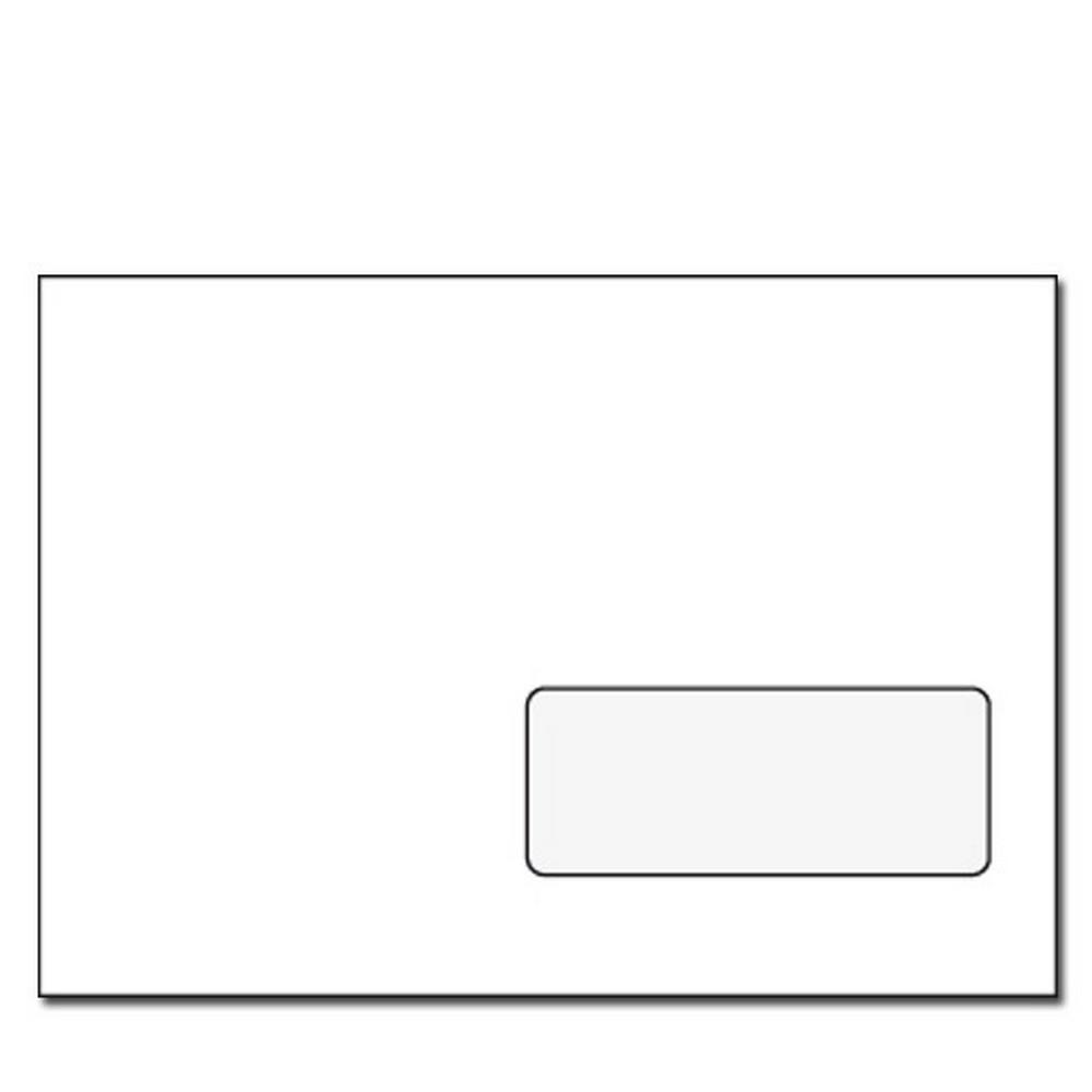 Obálka C5 obyčejná, okénko vpravo dole, 1 ks, 162 x 229