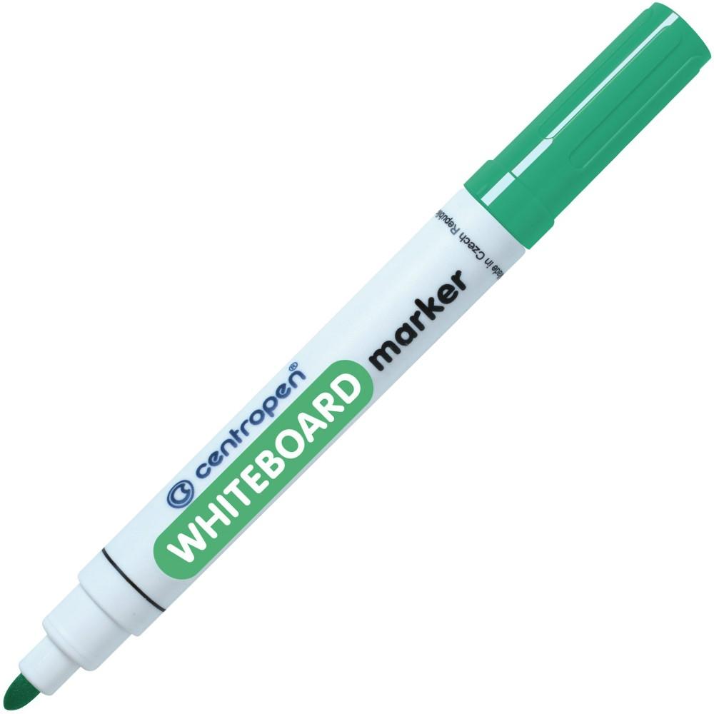 Značkovač 8559 na bílé tabule zelený