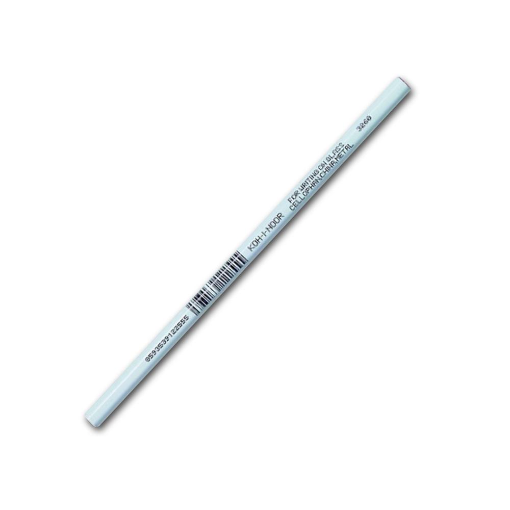Tužka na sklo a kov 3263 bílá