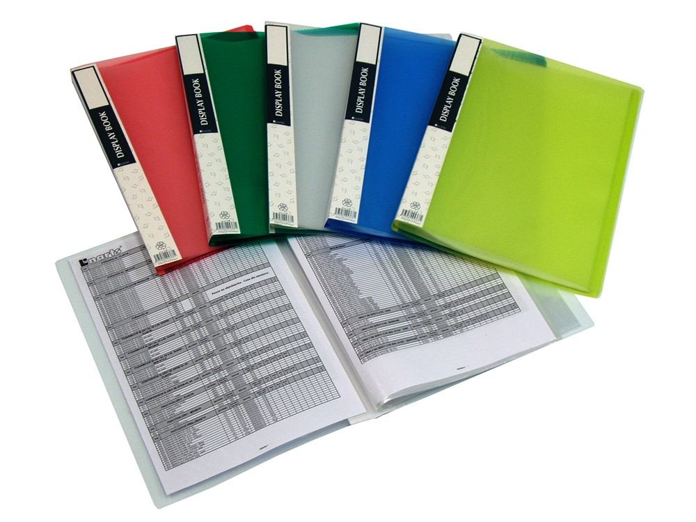 Katalogová kniha A4 20 kapes