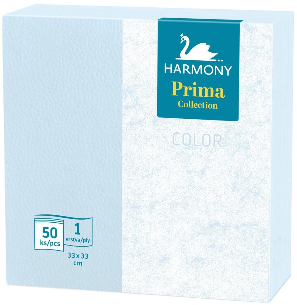 Ubrousky Harmony Color 33 x 33 modré / 50 ks