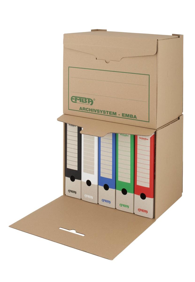Box archivační skupinový Emba 400 x 335 x 265 mm