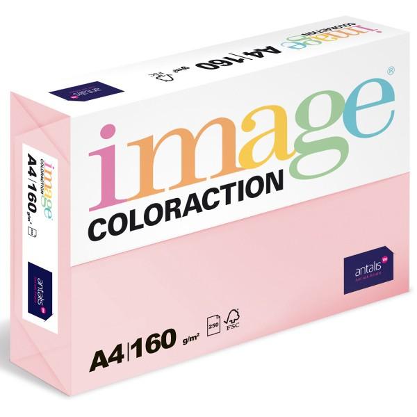 Papír kopírovací Coloraction A4 160 g růžová pastelová 250 listů