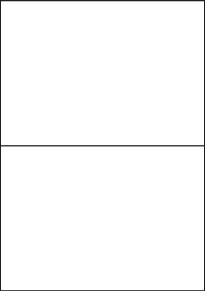 Etikety PRINT 210 x 148,5 bílé