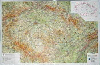 Podložka na stůl A2 mapa České republiky
