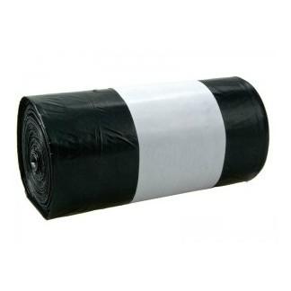 Pytel na odpadky se zatahováním 120 L /25 ks (70 x 110) 45 mic.černý