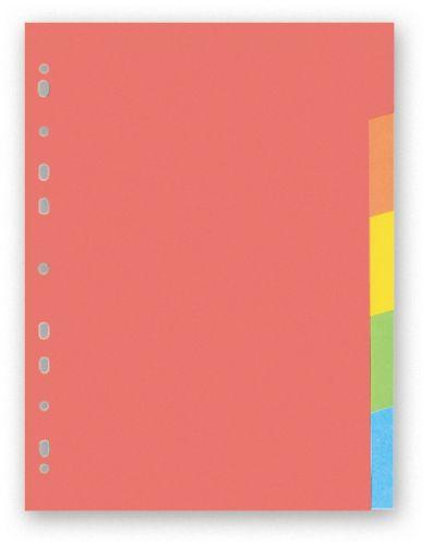 Rozdružovač papírový A4 5 barev