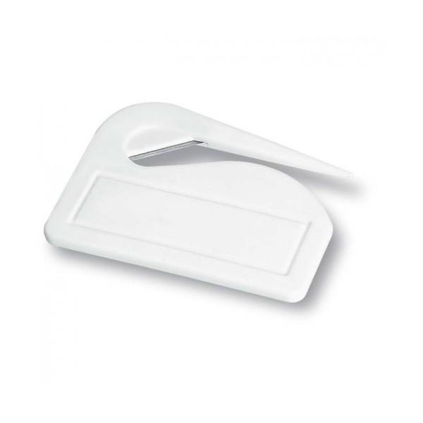 Otvírač dopisů plastový bílý