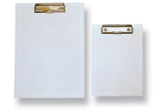Podložka na psaní s klipem A4 bílá