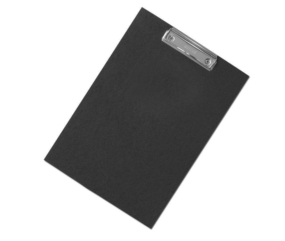 Podložka na psaní s klipem A4 černá