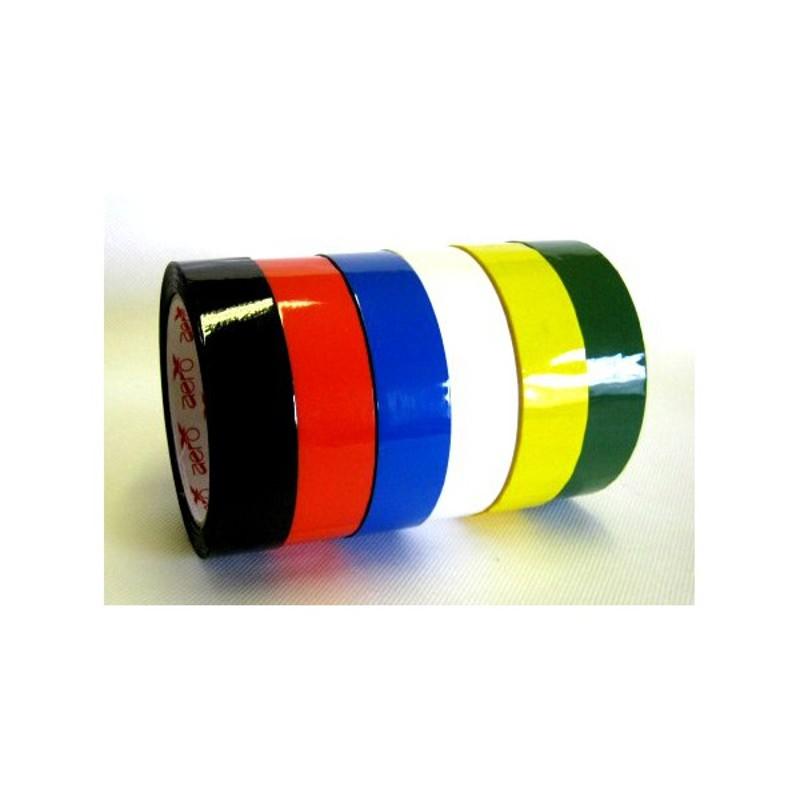 Lepicí páska barevná 25 mm x 66 m žlutá