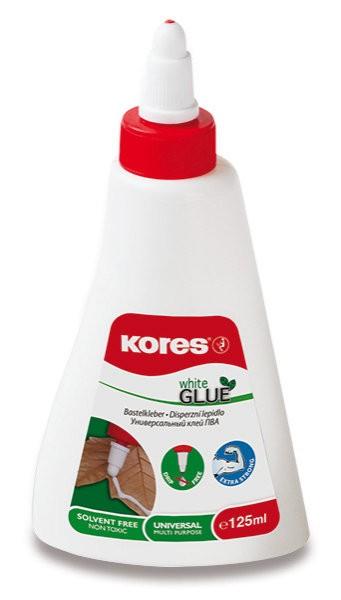 Lepidlo KORES White Glue 125 ml (bílé)