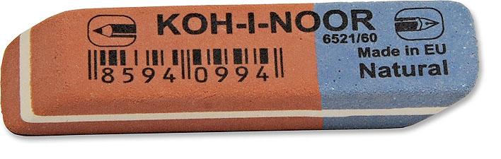 Pryž KIN 6521/60 červeno-modrá malá 57x14x8 mm