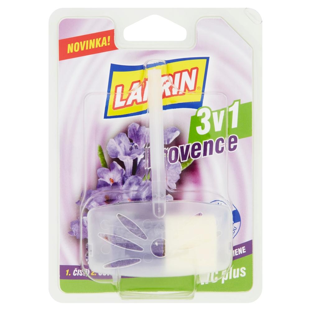 WC dezinfekce VČETNĚ ZÁVĚSU Larrin plus 3v1 Levandule