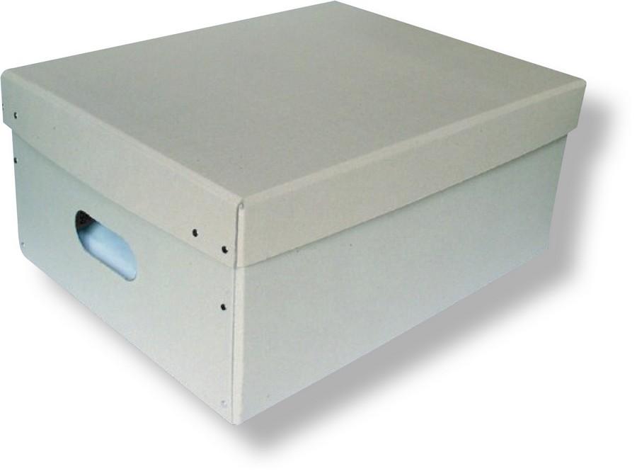 Krabice archivační nýtovaná 450 x 350 x 200 mm