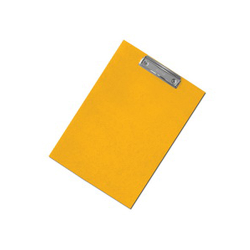 Podložka na psaní s klipem A4 žlutá