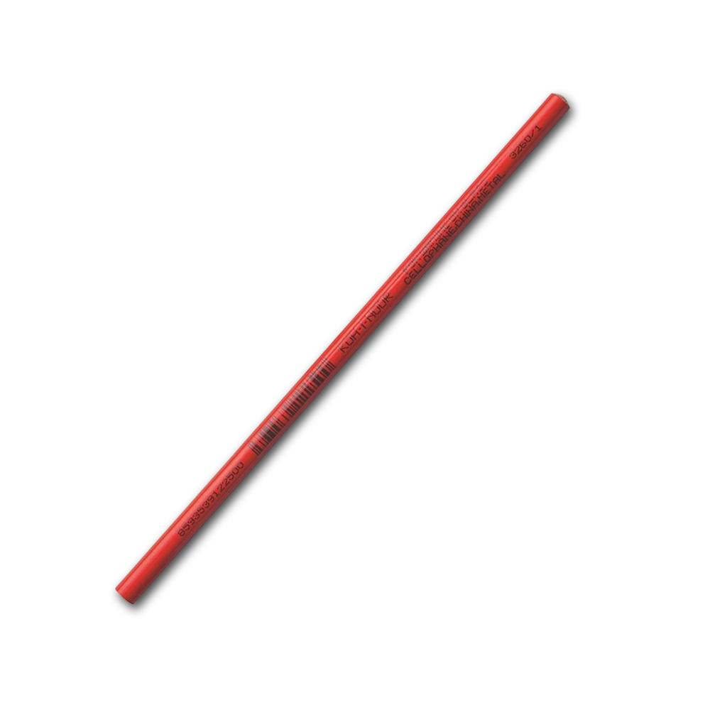 Tužka na sklo a kov 3263, 3260 červená