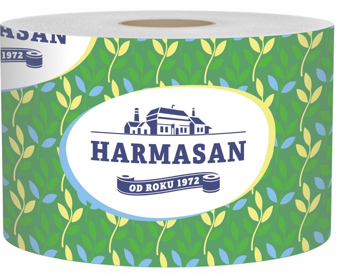 Papír toaletní Harmony Maxima 2-vrstvý, návin 69 m, 600 útržků
