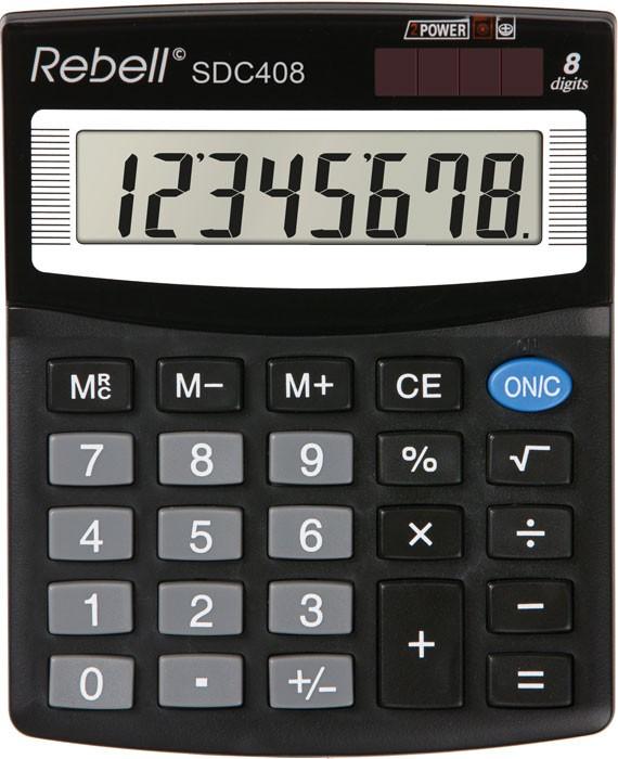 Kalkulačka Rebell SDC 408 BX stolní / 8 míst.