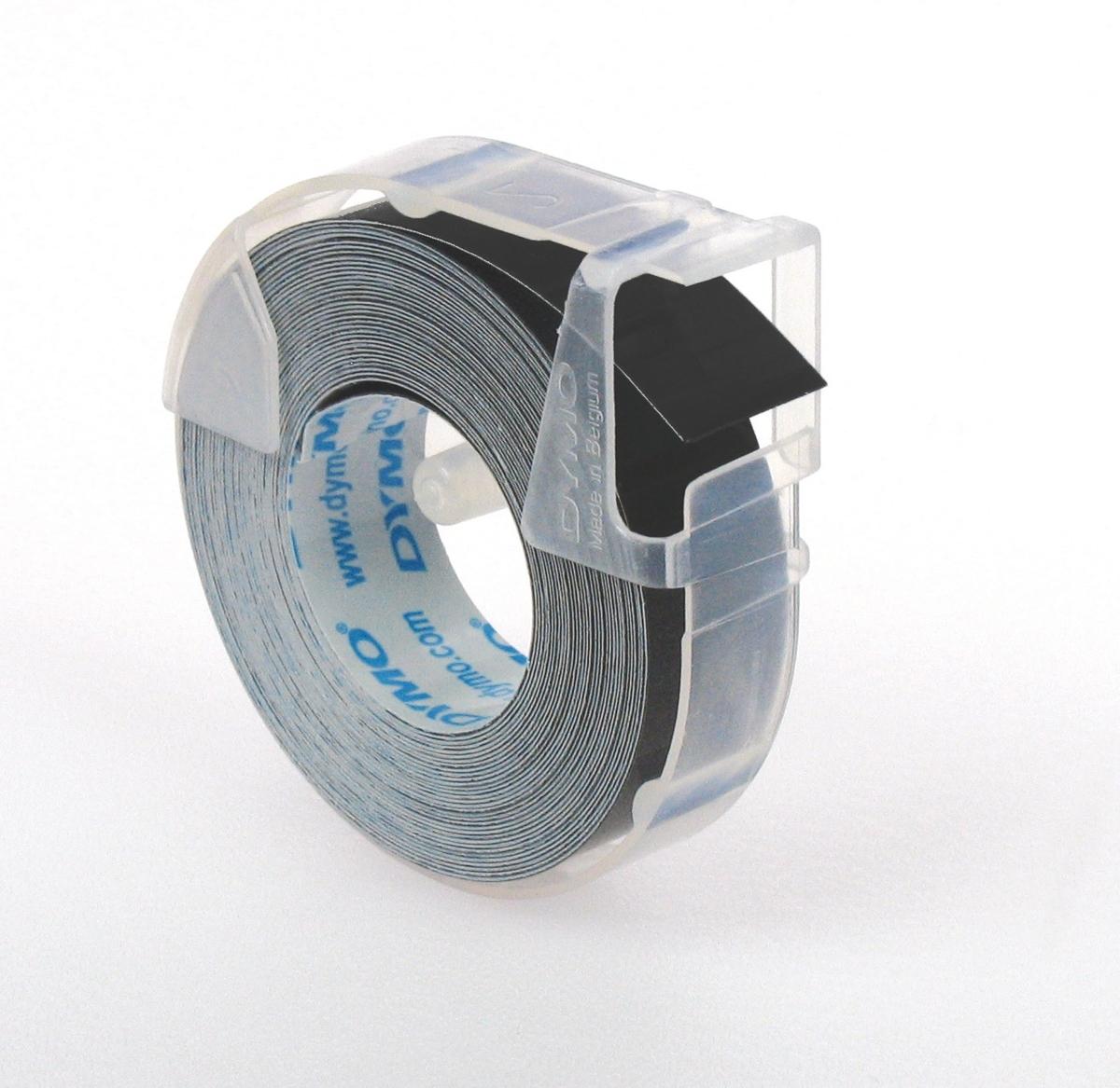 Páska DYMO 3D 9 mm 3 m blistr černá 3 kusy