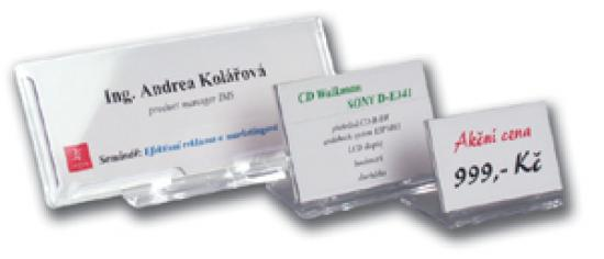 Identifikátor stolní SRD 527 - 200 x 87 mm / 1 kus