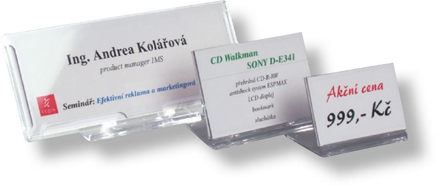 Identifikátor stolní SRD 516 - 80 x 57 mm