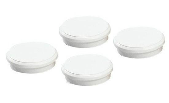 Magnety bílé průměr 24 mm / 10 kusů