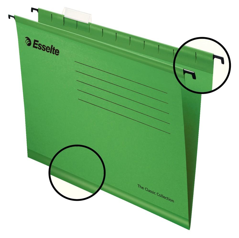 Závěsné desky STANDARD zelené