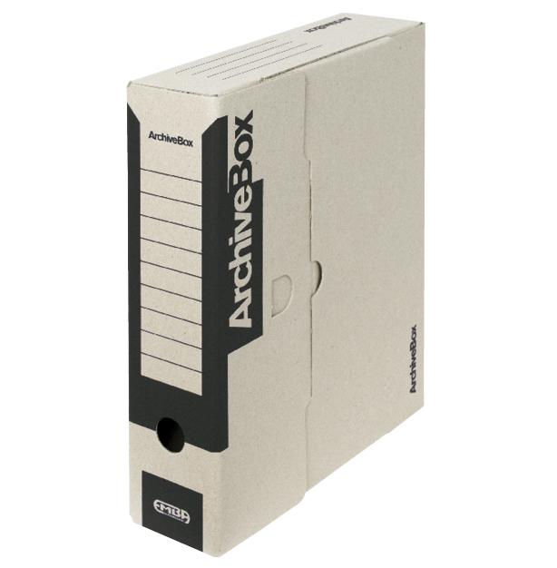 Box archivační barevný 330 x 260 x 75 mm černý
