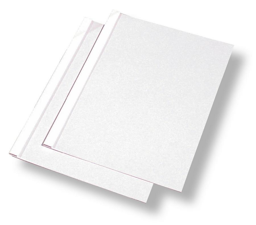 Obálka - termovazba Standing 6 mm / 41-60 listů bílá / 100 ks