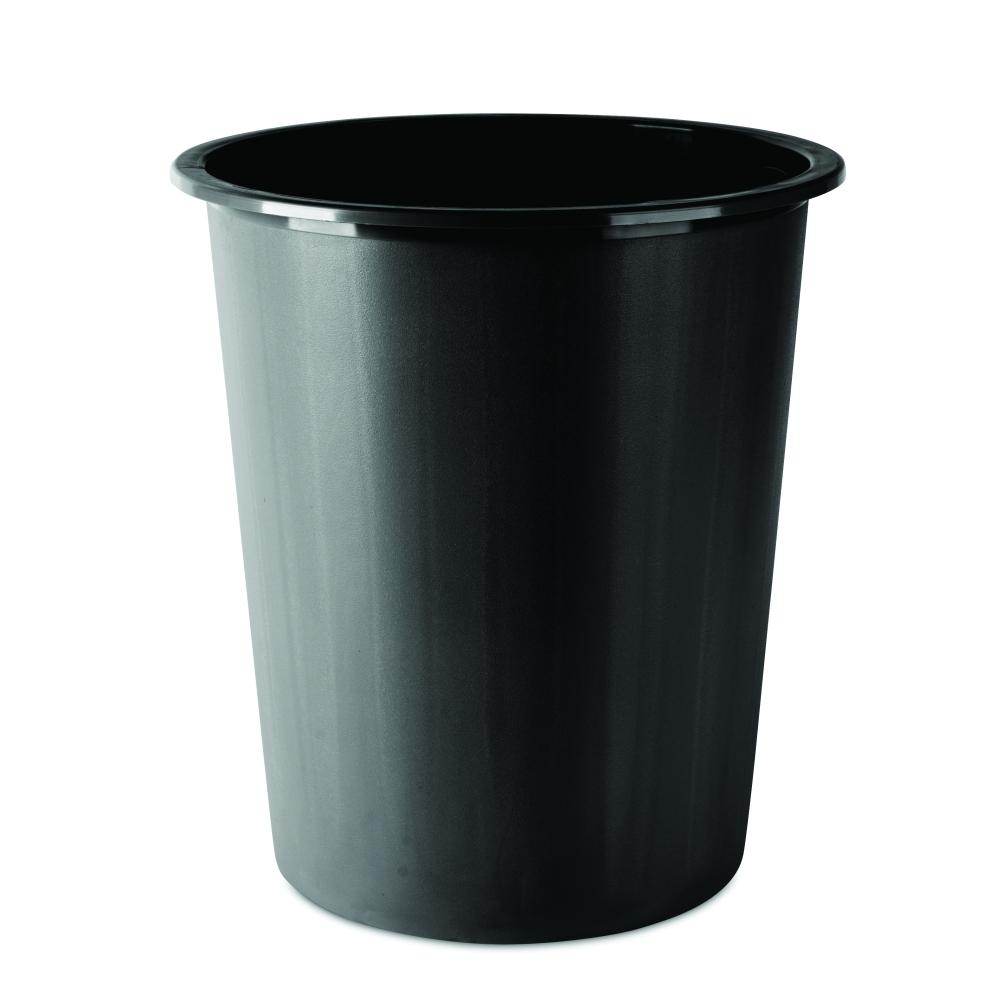 Koš odpadkový plný černý