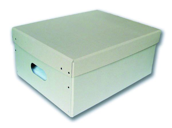 Krabice s víkem 450 x 350 x 200 mm 2 díly/5ks