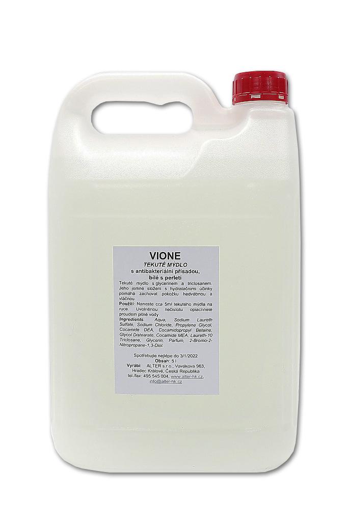 Mýdlo tekuté antibakteriální, 5 l