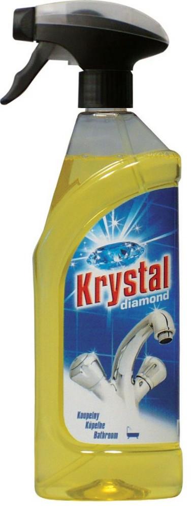 Krystal na koupelny 750 ml s rozprašovačem