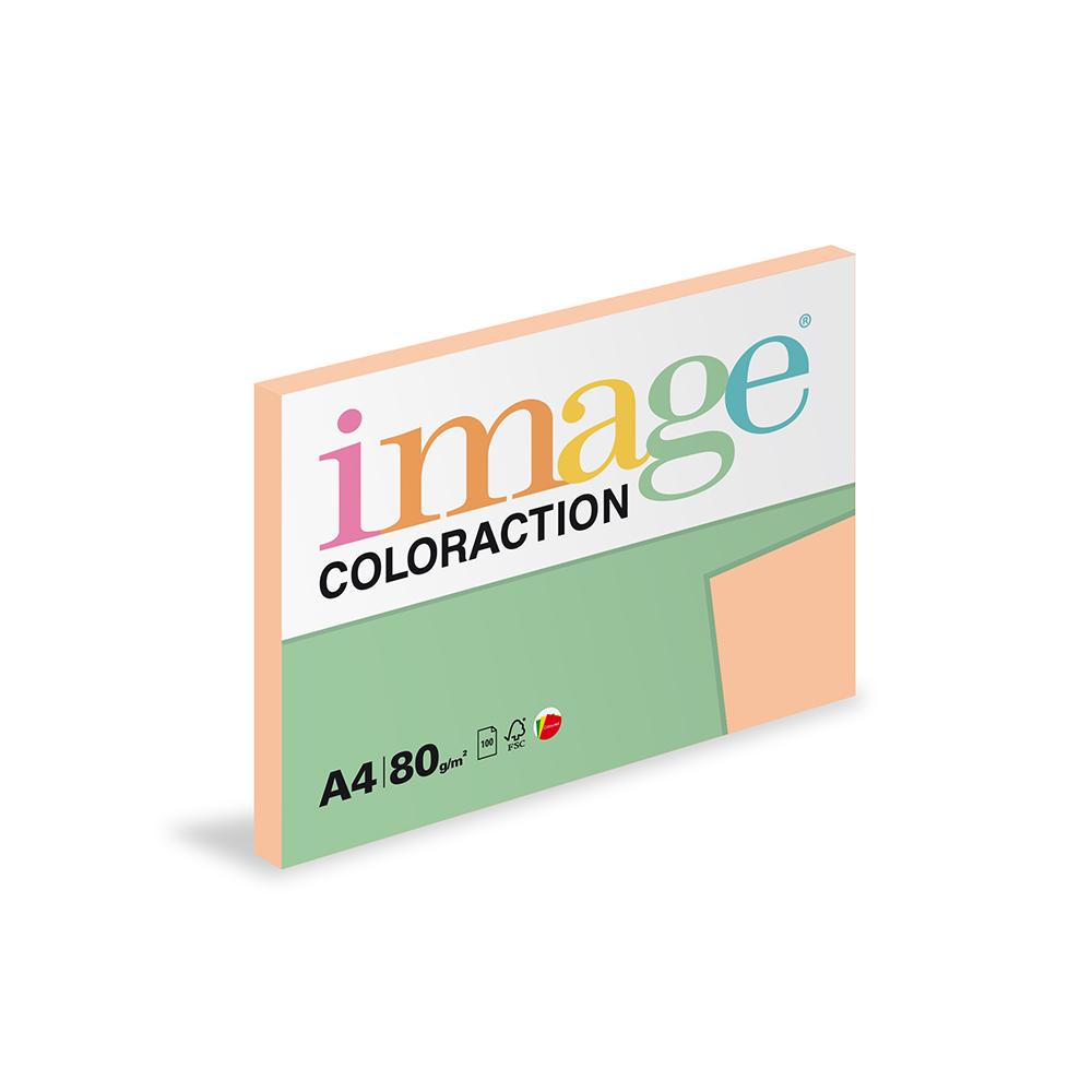 Papír kopírovací Coloraction A4 80 g meruňková 100 listů